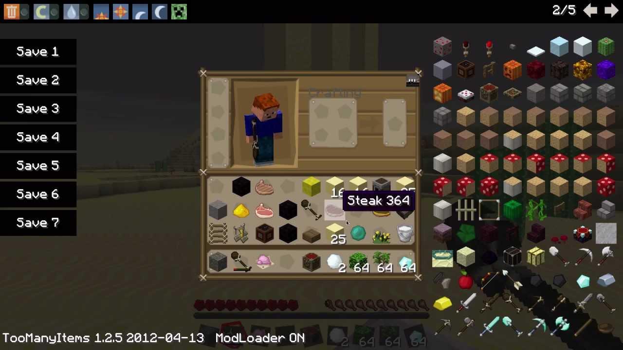 Minecraft Inventory Mod