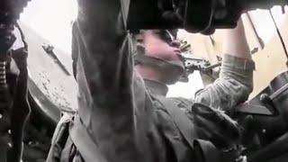 Turret Gunner Survives Headshot From Taliban Sniper