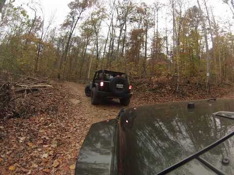 Trail 25 Adventure Off Road Park Chattanooga TN Jeeps Wrangler Jk JKU Rubicon