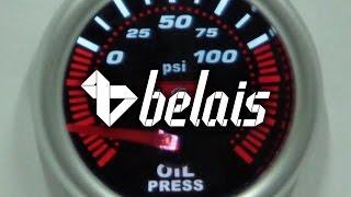 Указатель давления масла «KetGauge» LEXUS STYLE 7704-2 (Ø52) — «Белайс»