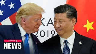 Trump threatens to terminate phase one trade deal with China if Beijing fails to purchase U.S. ...