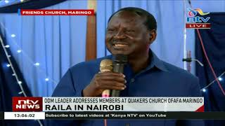 Raila Odinga: My agenda with President Kenyatta is to end corruption; fix this country