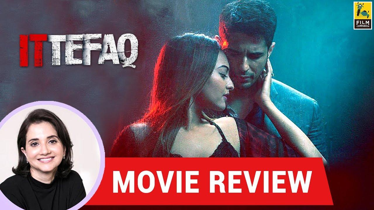 Anupama Chopra's Movie Review Of Ittefaq