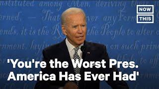Biden: 'You're the Worst President America Has Ever Had' | NowThis