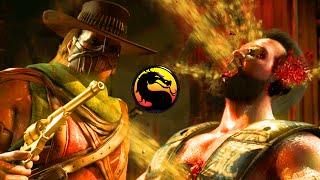"MY UNDEFEATED RECORD - Mortal Kombat X ""Erron Black"" Gameplay (MKX Online Ranked)"