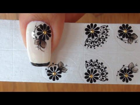 Como aplicar adesivos de unhas