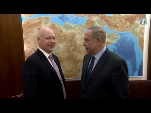 Jason Greenblat meets PM Netanyahu