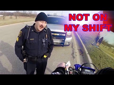 POLICE VS BIKERS 2017 - Good Cops? Bad Cops? You Decide! [Ep.#27]