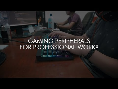 Using gaming peripherals for school and professional work?