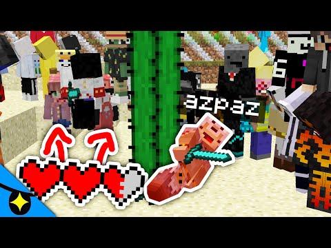 Minecraft UHC mais ma vie est reliée à TOUT LE MONDE !