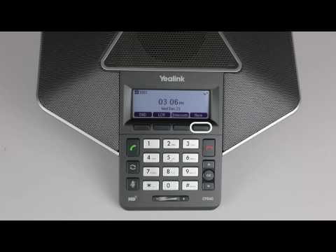 Yealink CP860: Access your Voicemail
