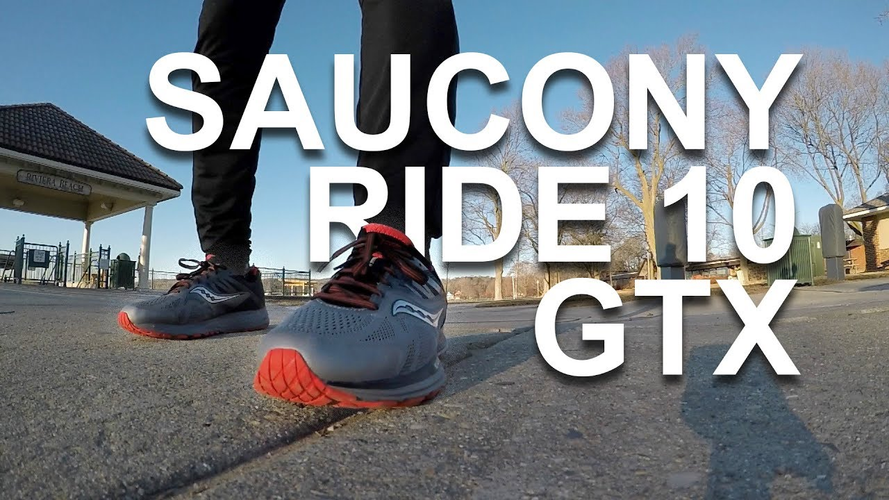 SAUCONY RIDE 10 GTX - UNBOXING AND 1