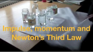 Impulse and momentum and Newton