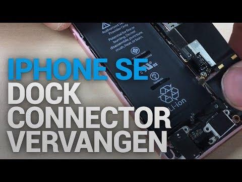 iPhone SE dock connector vervangen - FixjeiPhone.nl