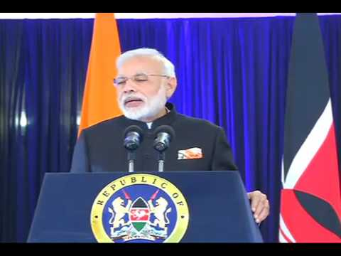 PM Modi's speech at the Joint Press statements between India & Kenya in Kenya