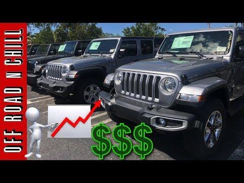 2018 Jeep Wrangler JL Prices   New Wrangler 2018 Price Increase
