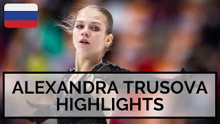 Alexandra TRUSOVA Rostelecom Cup 2020 Highlights Александра Трусова Кубок Ростелекома 2020