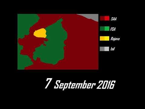 Siege of Aleppo July - December 2016: Every Day