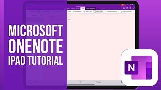 Microsoft OneNote for iPad Tutorial 2020 screenshot 5
