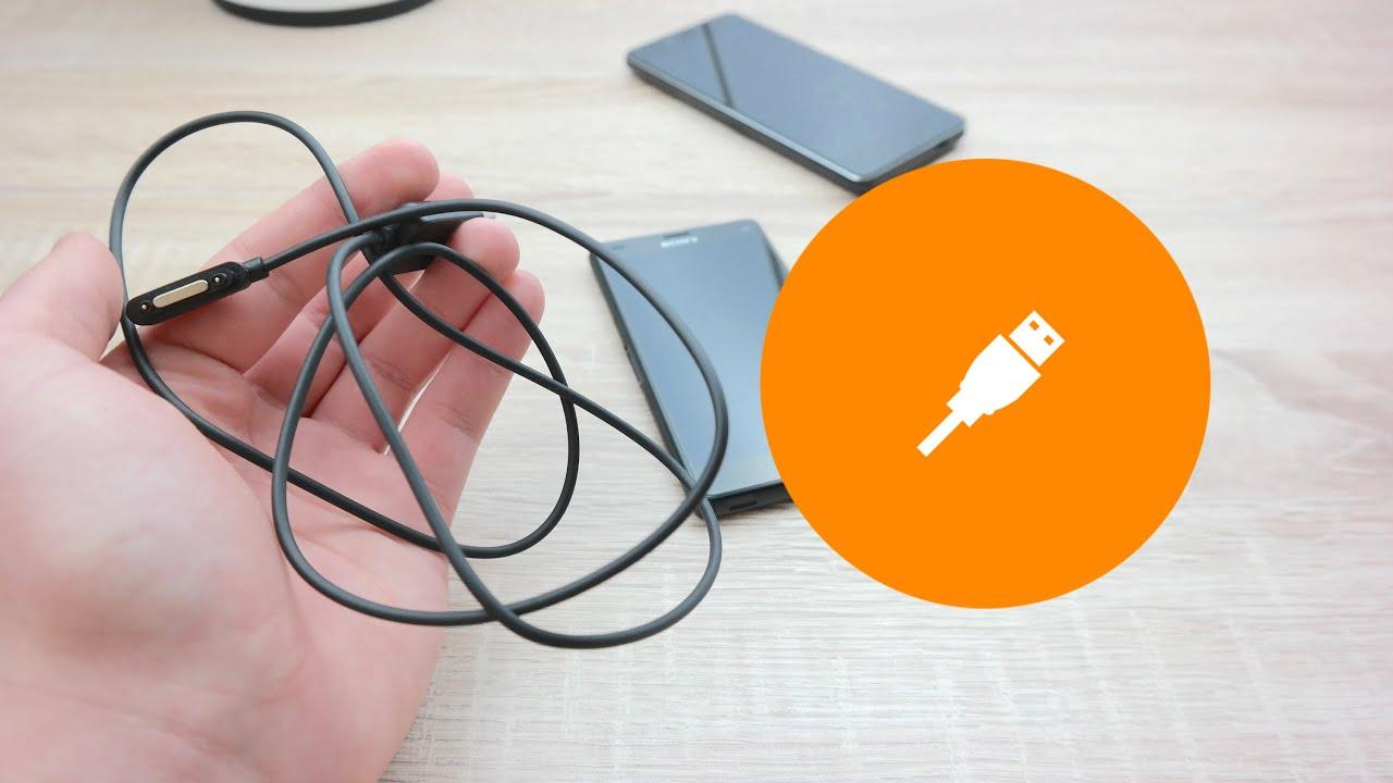 Kabel magnetyczny od Sony Z3 pact Recenzja Test