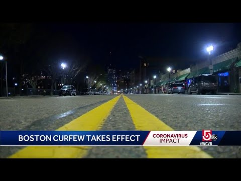Overnight curfew in