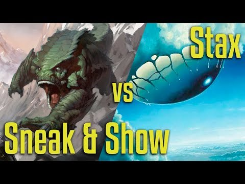 Brainstorm MTG | Legacy Magic: The Gathering | Sneak And Show VS Stax