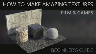 Beginners Guide to Texturing 3D models
