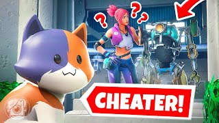 KIT CHEATS at HIDE N SEEK in Fortnite Season 3! (Fortnite Hide & Seek)