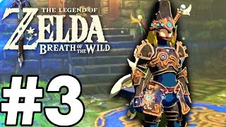 STRONGEST ARMOUR IN THE GAME! - The Legend Of Zelda: Breath Of The Wild - Gameplay Part 3 (Switch)