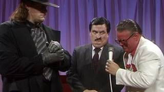 "Paul Bearer makes his debut on ""The Brother Love Show"" by"