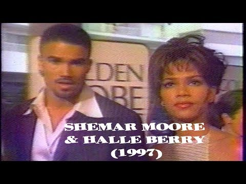 Shemar Moore & Halle Berry Dating (1997)