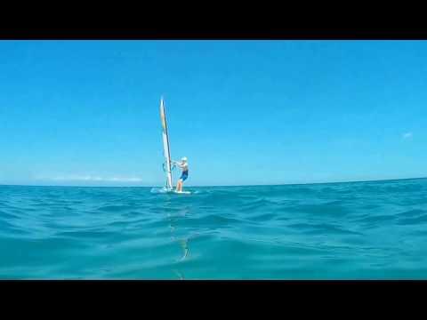 Beach Bar Plaka Litohoro Pieria video Greece (underwater shots)