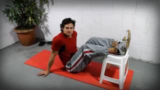 Bauchmuskeltraining -  Fitness Übungen mit Körpergewicht