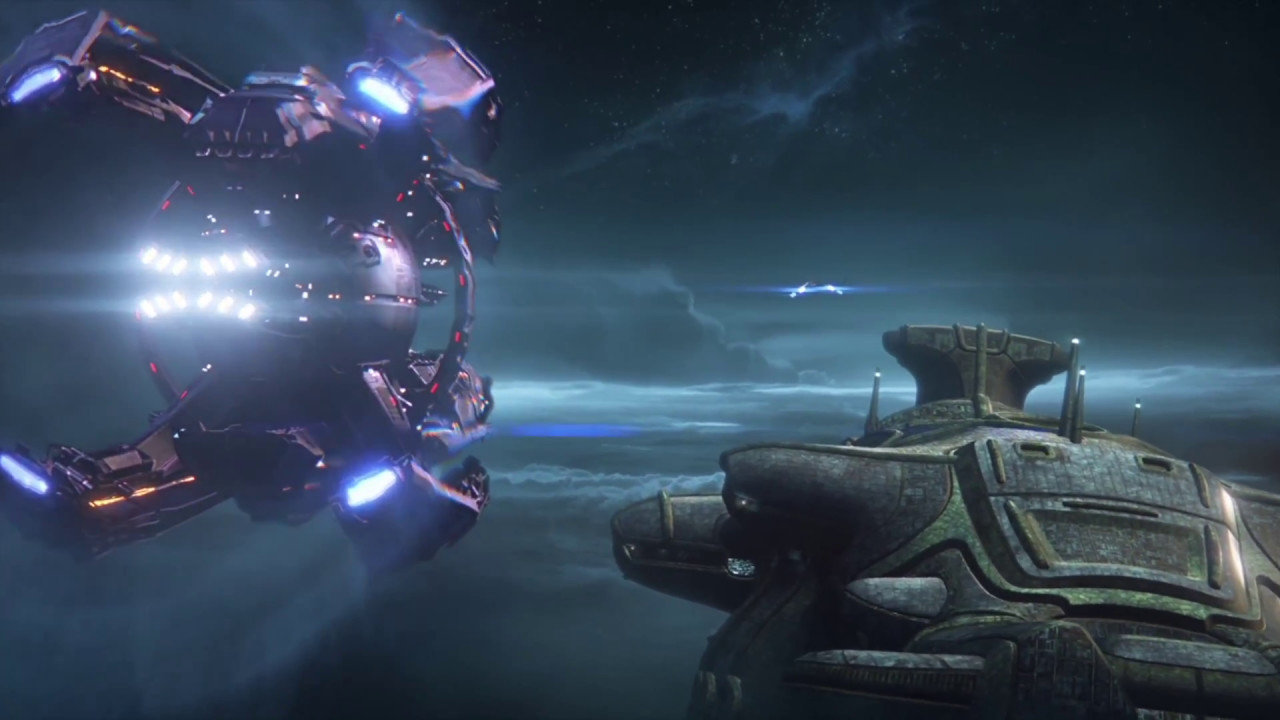 Mass Effect Andromeda Salarian Ark Paarchero And Tempest Escape Archon