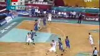 2006多哈亚运会男篮中国VS韩国a