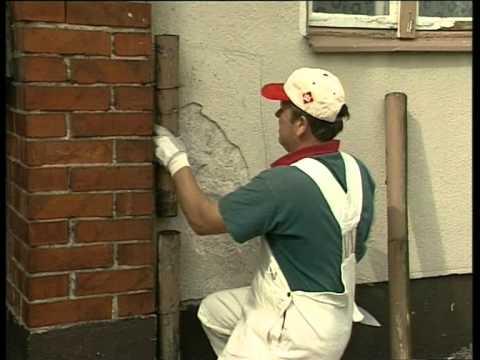 Окраска каменных фасадов Тиккурила