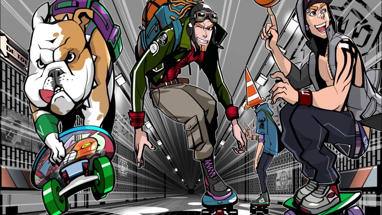 Freestyle street basketball 2 - Hustle n grind (instrumental)