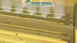 Mini-sauna Kedrovaya zdravnica