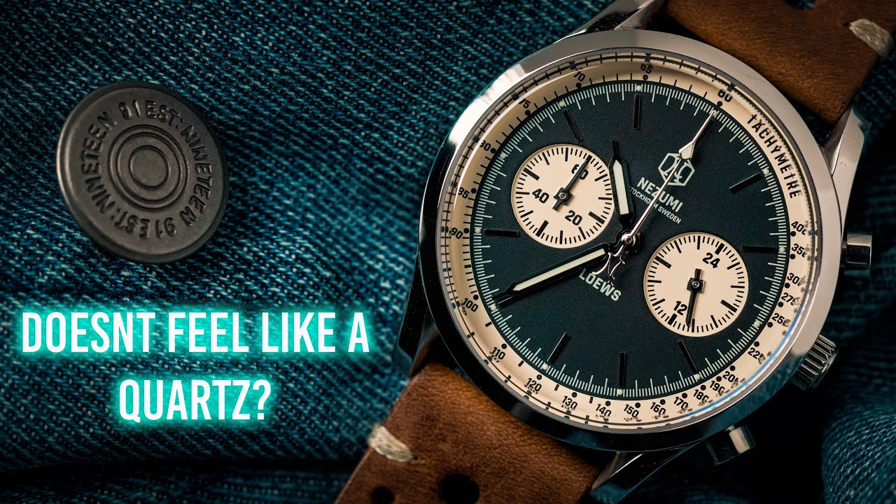 The Quartz Watch That DOESN'T Feel Like A Quartz - LOEWS Chronograph Review