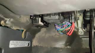 Cougar bouton sécurité pompe essence (IFS)