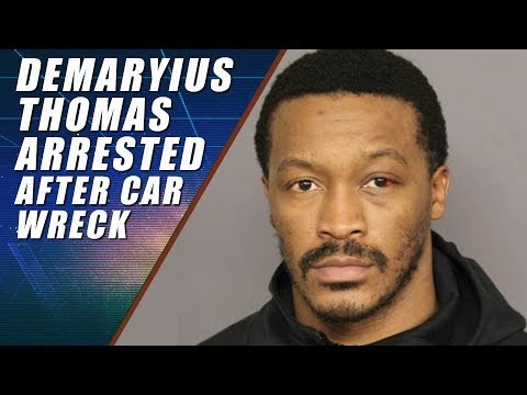 Demaryius Thomas Arrested for Vehicular Assault