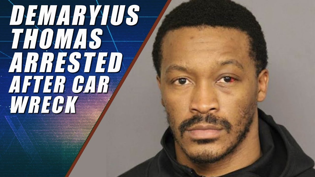 7db1397d6 Demaryius Thomas Arrested for Vehicular Assault - YouTube
