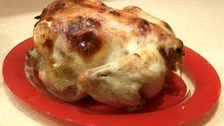 Рецепт курицы в духовке ★ Курица в духовке целиком