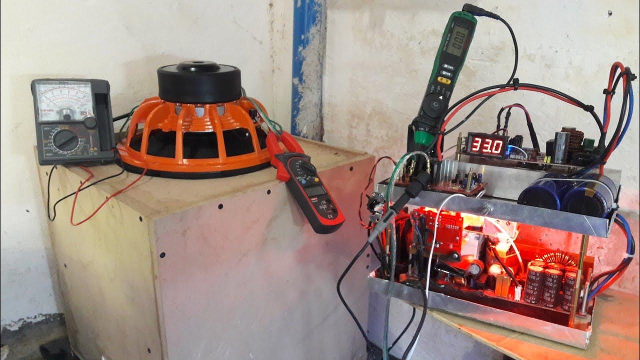 hard bass test a d s subwoofer speaker double magnet coil youtube. Black Bedroom Furniture Sets. Home Design Ideas