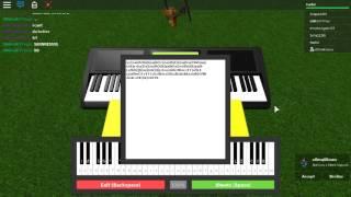 Roblox snowdin fogli di pianoforte.
