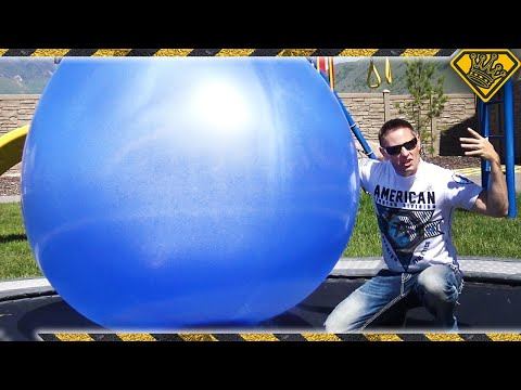 Thumbnail: Filling Giant 6 FT BALLOONS with Liquid Nitrogen!