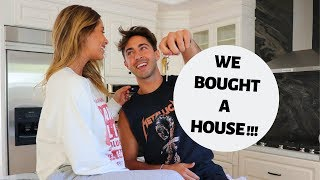 WE BOUGHT A HOUSE!! OFFICIAL HOUSE TOUR!