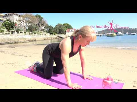 Stretching Sequence - The Healthy Mummy