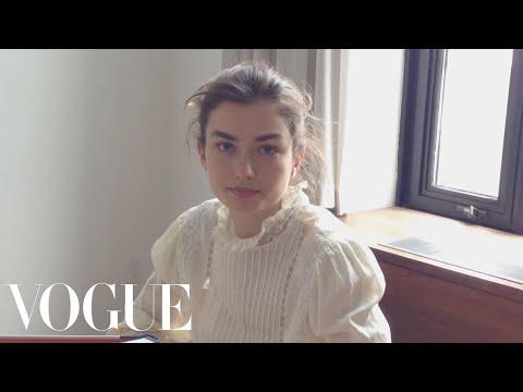 Instagirl: Andreea Diaconu - Vogue