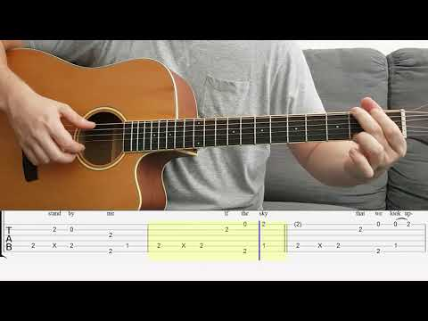 Repeat The Scientist - Coldplay - Fingerstyle Guitar With
